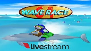 Wave Race 64 - N64 - Livestream - Ultra HDMI