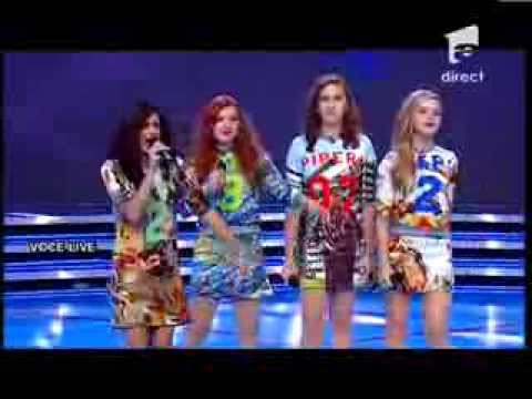 "Duel: Quattro - En Vogue - ""Don't Let Go"" - X Factor Romania, sezonul trei"