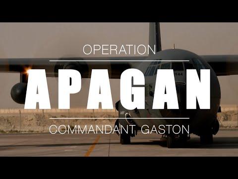 Opération APAGAN - Commandant en second du