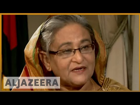 Bangladesh PM: Rohingya refugees not country's responsibility