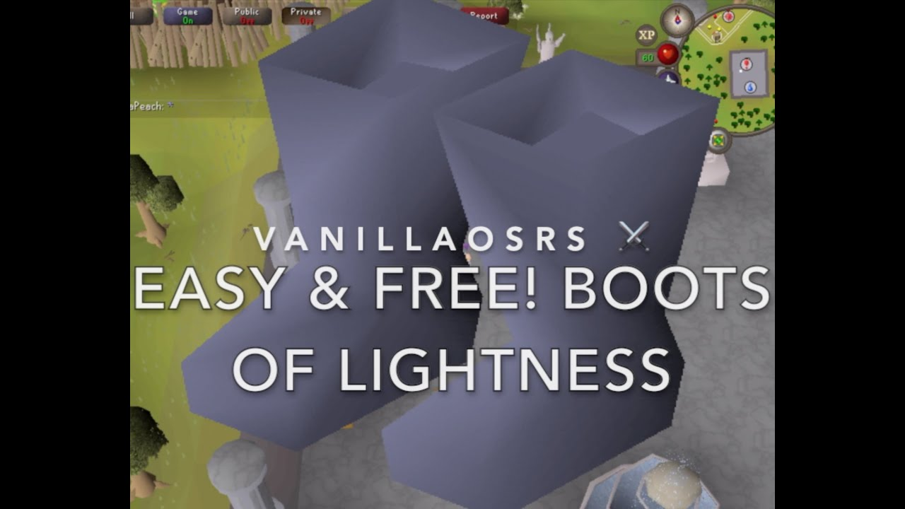 Boots of Lightness OSRS - How to Get, Location