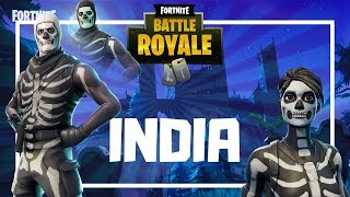 Fortnite India | Skull Trooper is Back | !giveaway