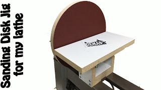 Making a Disk Sander. DIY