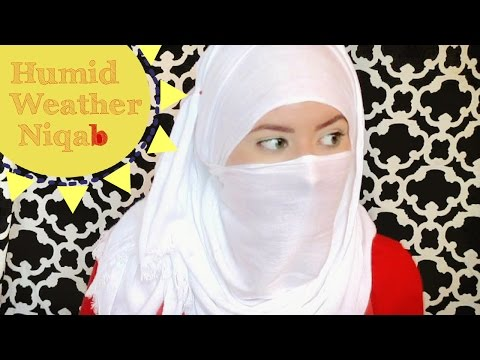 Perfect Summer Niqab Style