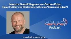 """Investor Gerald Wagener: Einige Politiker und Medienleute sollte man """"teeren und federn""""!"""