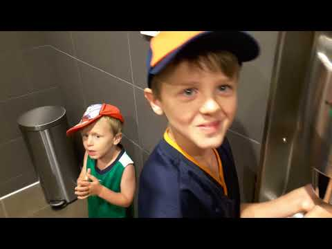 The Goss Brothers First Visit To McDonald's After Remodel Traverse City Summer 2017