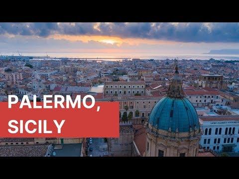 Palermo, Sicily by drone - DJI Mavic 2 Pro | Sicily Travel