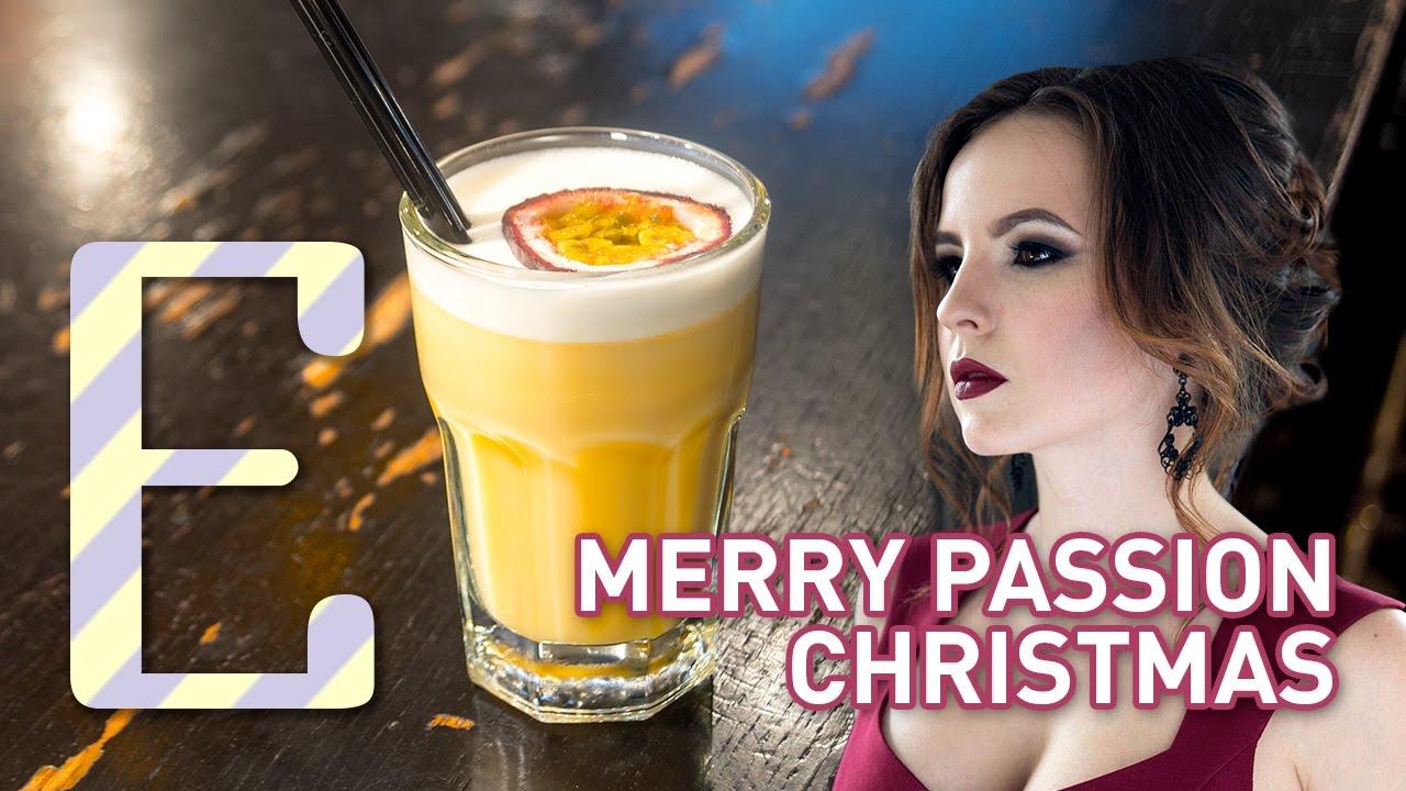 Новогодний коктейль Merry Passion Christmas
