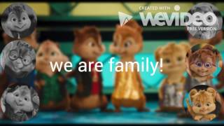 Gambar cover The Chipmunks & The Chipettes -  We are family