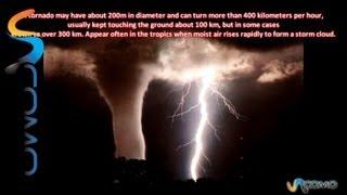 Cómo son los tornados - The tornadoes
