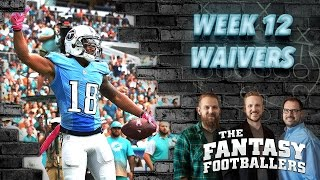 Fantasy Football 2016 - Week 12 Waivers, Streams of the Week, Mailbag - Ep. #313