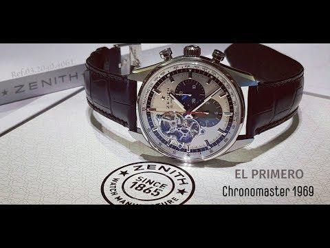 Бессмертная классика! или Zenith EL Primero Chronomaster 1969.