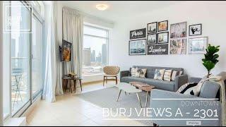 Apartment Showcase * Burj Views A - 2301