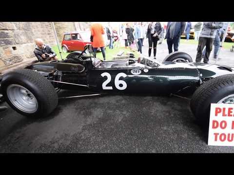 Formular 1 BRM 1960s Racing Car