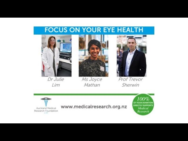 Video: Focus on your eye health