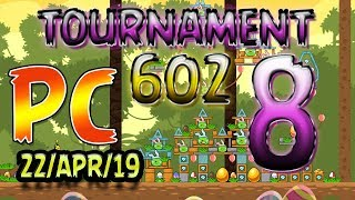 Angry Birds Friends Level 8 PC Tournament 602 Highscore POWER-UP walkthrough #AngryBirds