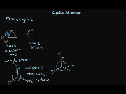 Cyclic Alkanes