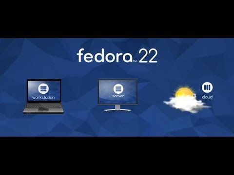 How to Install Fedora Workstation Live 22 With Full Screen ...