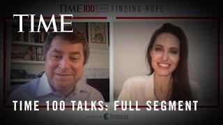 TIME100 Talks: Angelina Jolie Discusses How Coronavirus Is Harming Children Across The World I TIME