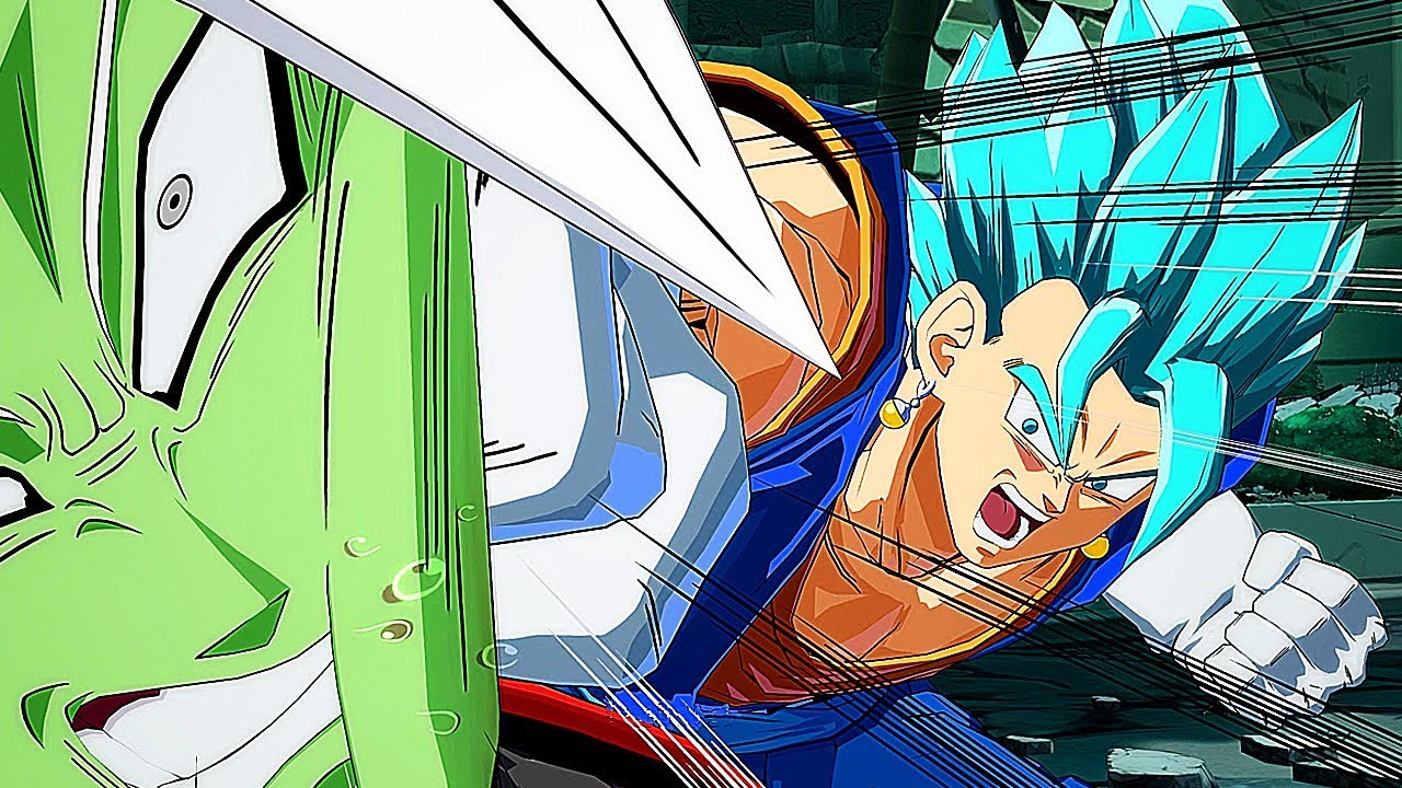 Dragon Ball FighterZ - VEGETO & ZAMASU Attaques Ultimes