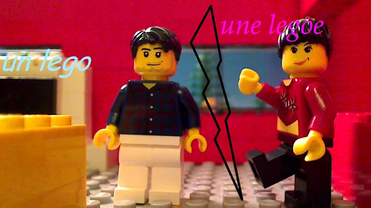 Intro Un Lego Une Legoe YouTube - Lego minecraft hauser