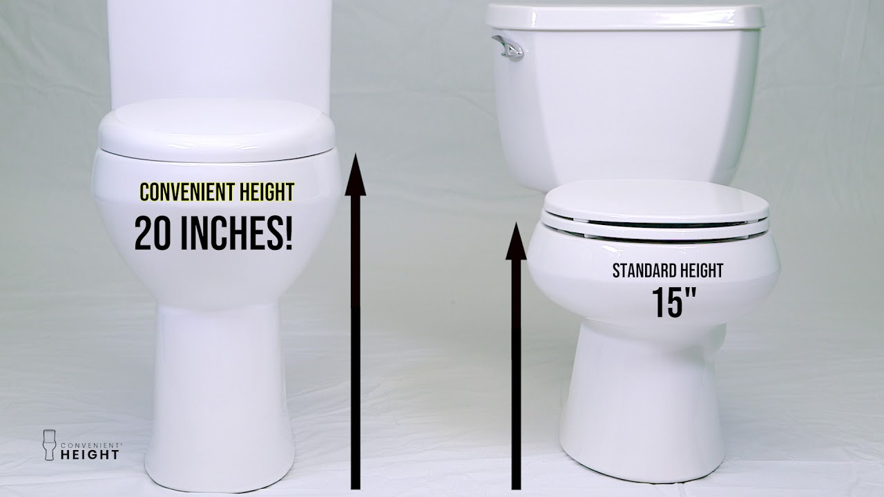 Convenient Height Tall Toilet Overview Youtube