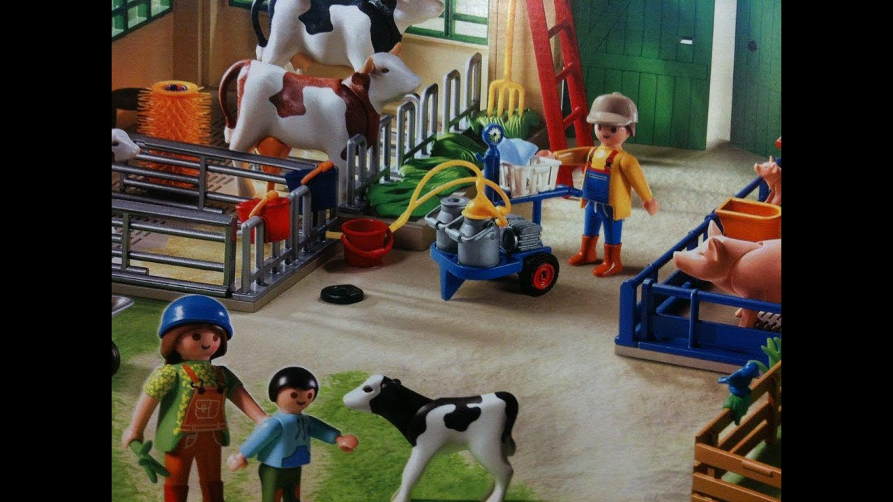 Playmobil Ferme Country Bauernhof Farm Youtube