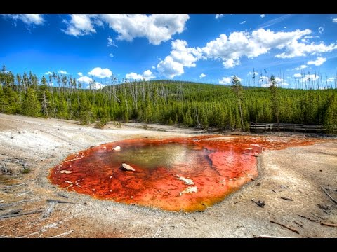 Man's Body Dissolves in Hot Spring in Yellowstone National Park