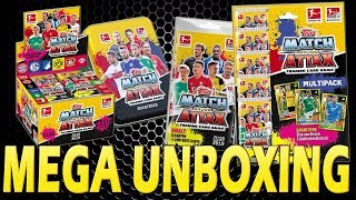 Topps MATCH ATTAX 2018-19 MINI TIN + BLISTER + MULTIPACK | MEGA UNBOXING