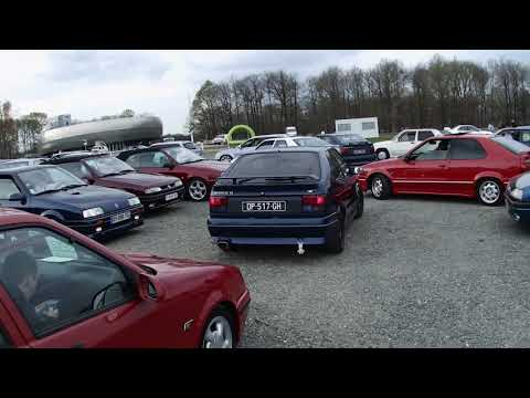 Renault 19 Montlhéry 2019 Youngtimers Festival