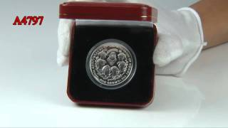 2009 Accession of King Henry VIII Coin
