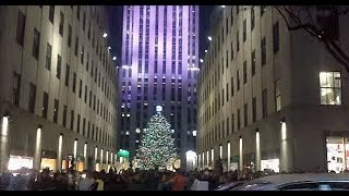 Christmas  in NYC (2015): Saks Fifth Avenue & Rockefeller Center