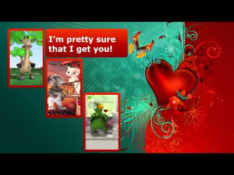 Talking Tom and Angela - You get me lyrics