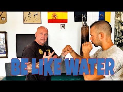 Sifu Peter Grusdat - BE LIKE WATER - Español Deutsch - Wing Tsun - Real Selfdefence - YouTube