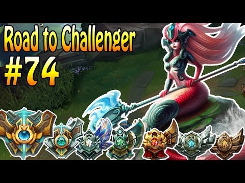 Nami + Jinx Lane - Promo Spiel  2- Road to Challenger #74 | MrMaikAp