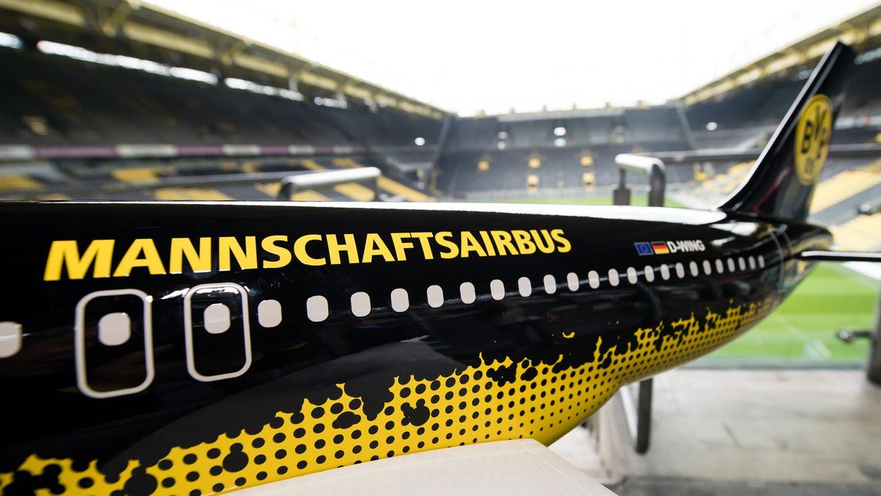 Borussia Dortmund fliegt mit Eurowings in die Champions League