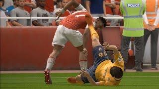 Fifa 18 - arsenal vs atlético madrid - uefa europa league gameplay (hd) [1080p60fps]