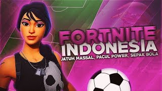 Download Fortnite Battle Royal Indonesia - Jatuh Massal, Pacul Power, Sepak Bola Mp3