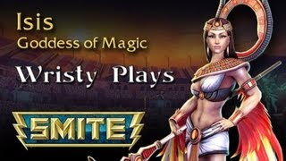 SMITE Isis Gameplay Live Commentary - Shes a Boom Town Girl