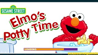 Sesame Street Elmo's Potty Time Training With Dad Kids Game