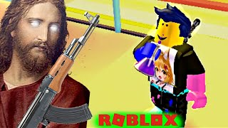 Roblox - God rips me off so I'm going to Heaven to blow his teeth - Heaven Simulator