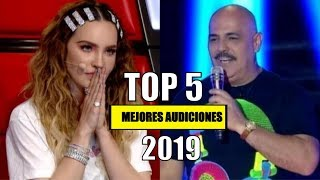 LAS MEJORES AUDICIONES DE LA VOZ MEXICO 2019