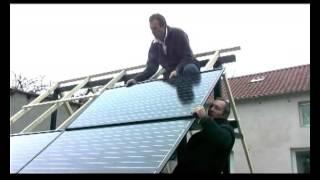 Солнечные батареи вместо крыши