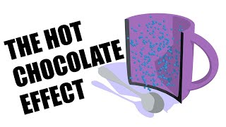 The hot chocolate effect explained and animated