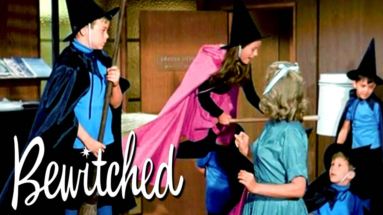 Darrin Is Terrified of Having 'Witch Children' | Bewitched
