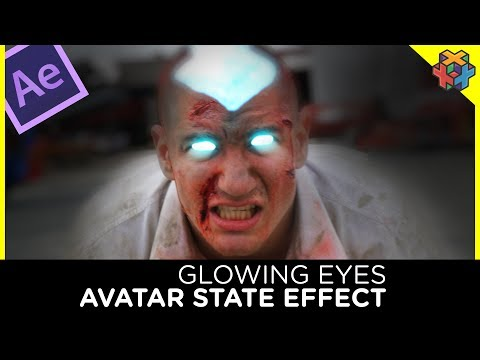 Avatar Glowing Eyes - After Effects Tutorial - Feat RackaRacka