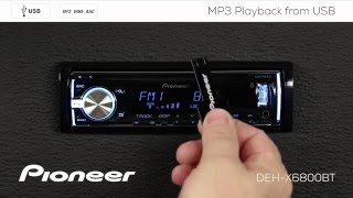 How To - DEH-X6800BT - MP3 Playback from USB