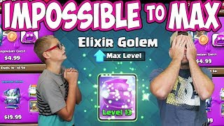 MAX ELIXIR GOLEM is IMPOSSIBLE! BUYING all the OFFERS! Challenge FINISH