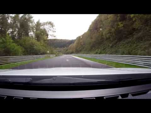 Nurburgring Nordschleife with corner names and notes BMW 125i 8:46 BTG
