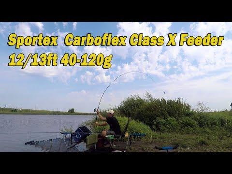 Фидерные удилища Sportex Carboflex. Проверяем заявленные веса!